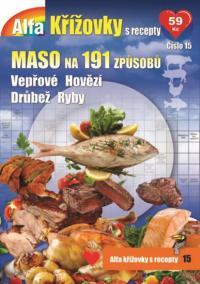 Křížovky s recepty - Maso na 191 způsobů