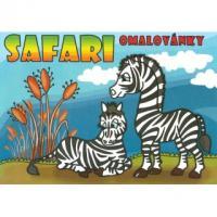Omalovánky - Safari