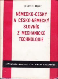 Německo-český a česko-německý slovník z mechanické technologie