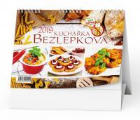 Kalendář 2019-Bezlepková kuchařka - stolní týdenní
