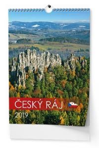 Kalendář 2019-Český ráj - nástěnný
