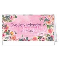 Kalendář 2019-Dvouletý - stolní měsíční