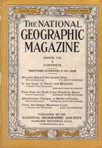 The National Geographic Magazine-March 1932