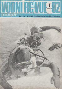 Vodní revue potápěč - ročník 1982 č. 1-3, 6
