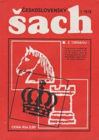 Československý šach 1978 - č. 1-8, 11, 12