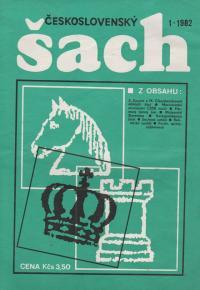 Československý šach 1982 - č. 1-12