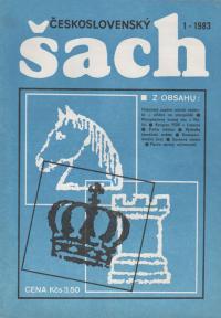 Československý šach 1983 - č. 1-12