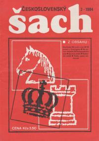Československý šach 1984 - č. 3-5, 7-9, 11