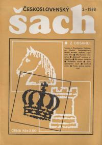 Československý šach 1986 - č. 3-5, 7-12