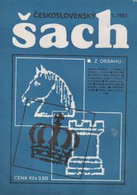Československý šach 1987 - č. 1-3, 5-9, 11, 12